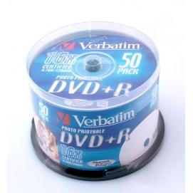 Płyta DVD+R VERBATIM 4,7GB 16X