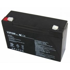 Akumulator żelowy 6V 12Ah VIPOW
