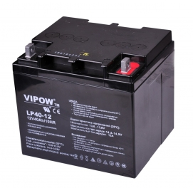 Akumulator żelowy 12V 40Ah VIPOW