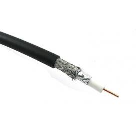 Kabel koncentryczny F690BV Cu, czarny żelowany