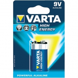 Bateria 9V VARTA HighEnergy