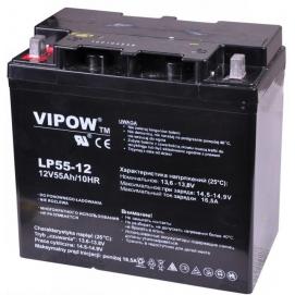 Akumulator żelowy 12V 55Ah VIPOW