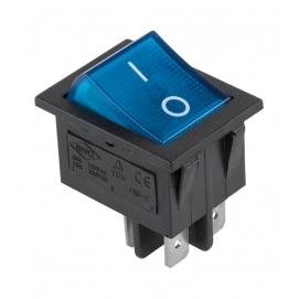 Złącze przełącznik IRS-201-3C niebieski 230V