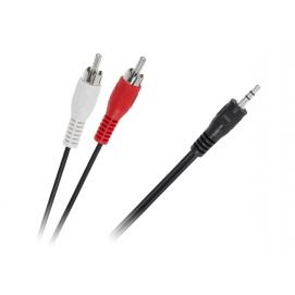 Kabel JACK 3,5-2 x RCA 15m