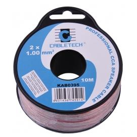 Kabel głośnikowy CCA 1.0mm  10M