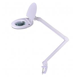 Lampa z lupą do montażu na blacie 5D (oświetlenie 22W)