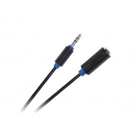 Kabel JACK 3.5 wtyk-gniazdo 5m Cabletech standard