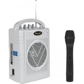 Mikrofon z wzmacniaczem zestaw przenośny SH-130