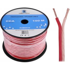 Kabel głośnikowy CCA 4.0mm Cabletech extra flexible