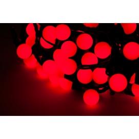 Diodowe lampki choinkowe ozdobne LED kolor czerwony 20m