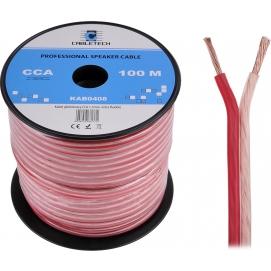 Kabel głośnikowy CCA 1.5mm Cabletech extra flexible