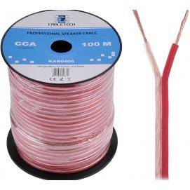 Kabel głośnikowy CCA 0.75mm Cabletech extra flexible