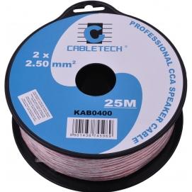 Kabel głośnikowy CCA 2.5mm  25M