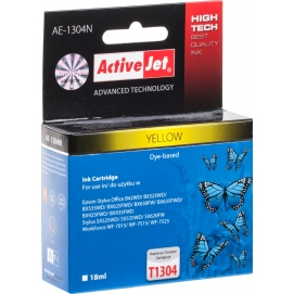 Tusz ActiveJet do EPSON T1304 yellow