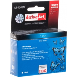 Tusz ActiveJet do EPSON T1302 cyan