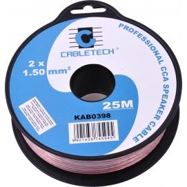 Kabel głośnikowy CCA 1.5mm  25M