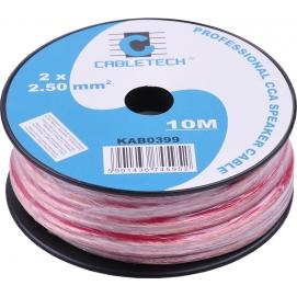 Kabel głośnikowy CCA 2.5mm  10M