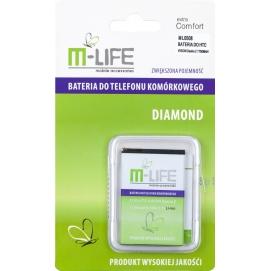 Bateria M-LIFE do HTC Vision Desire Z 1750mAh