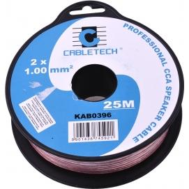 Kabel głośnikowy CCA 1.0mm  25M