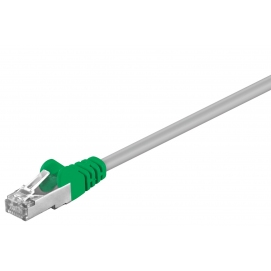 Kabel patchcord CAT 5e F/UTP 2m szary