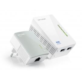 TP-LINK TL-WPA4220 KIT Zestaw transmiterów sieciowych AV500 z punktem dostępowym 300Mb/s