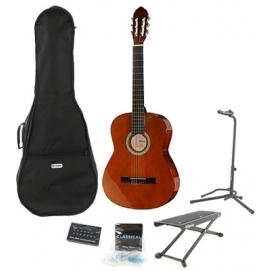 Zestaw! Gitara klasyczna 4/4 Startone