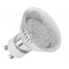 Żarówka 21 LED GU10, ciepłe białe, 230 V