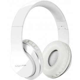 Słuchawki nauszne Kruger&Matz KM0631 białe z odłączanym kablem