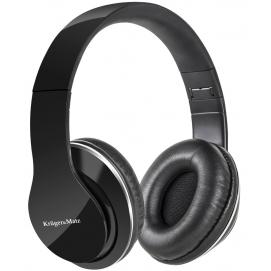 Słuchawki nauszne Kruger&Matz KM0630 czarne z odłączanym kablem