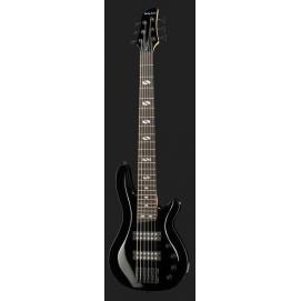 Gitara basowa 6-strunowa Harley Benton B-650 Black Progressive Series