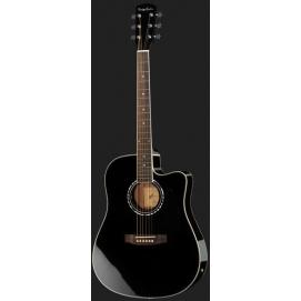 Gitara elektroakustyczna Harley Benton D-120CE BK