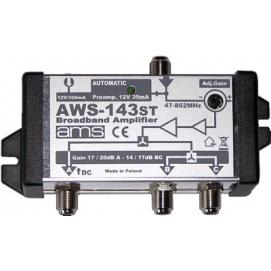 Wzmacniacz antenowy AMS AWS-143ST
