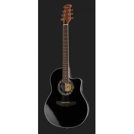 Gitara elektroakustyczna Harley Benton HBO-600BK