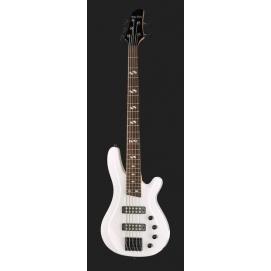 Gitara basowa Harley Benton B-550 White Progressive Series