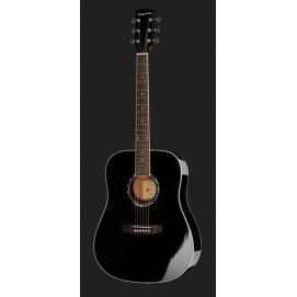 Gitara akustyczna Harley Benton D-120LH BK dla leworęcznych