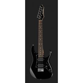 Gitara elektryczna Harley Benton RG-Mini BK 3/4 dla dzieci, młodzieży