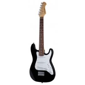 Gitara elektryczna Harley Benton ST-Mini BK dla dzieci, młodzieży 3/4