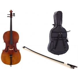 Wiolonczela Thomann Student Cello 1/4 + akcesoria