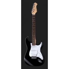 Gitara elektryczna Harley Benton ST-20 BK Standard Series