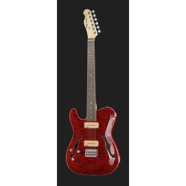 Gitara elektryczna dla leworęcznych Harley Benton TE-90QM