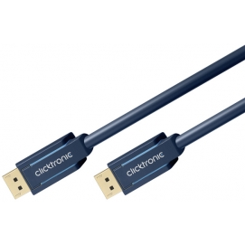 Kabel DisplayPort / DisplayPort 10m Clicktronic