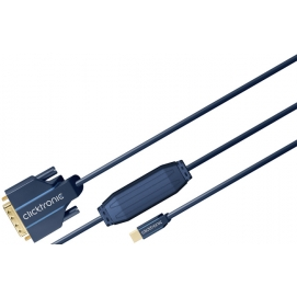 Kabel Mini DisplayPort / DVI 5m Clicktronic