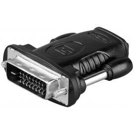 Adapter HDMI/DVI-D, nikiel