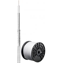 80 kabel koncentryczny antenowy dB, ekranowanie 2x, CU, 200 m