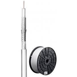 110 kabel koncentryczny antenowy dB, ekranowanie 3x, CU, 100 m