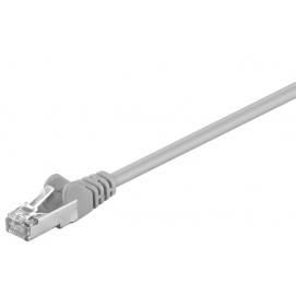 Kabel Patchcord Cat 5e F/UTP RJ45/RJ45 1m szary