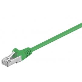 Kabel Patchcord CAT 5e SF/UTP RJ45/RJ45 1m zielony