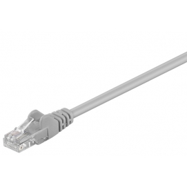 Kabel Patchcord CAT 5e U/UTP RJ45/RJ45 0,5m szary