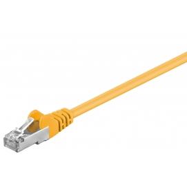 Kabel Patchcord CAT 5e F/UTP RJ45/RJ45 0,25m żółty