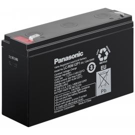 Akumulator żelowy AGM Panasonic (LC-R0612P1) 6V 12Ah
